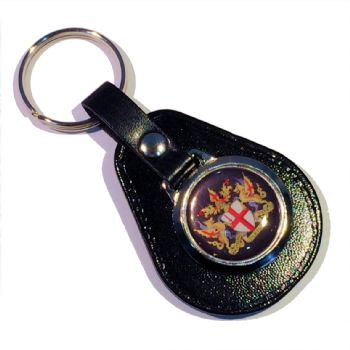 Pear keyfob 25mm